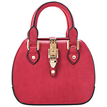 Buy Dune Dinidintage Buckle Bowling Bag, Pink Online at johnlewis.com