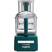 Buy Magimix 5200XL Premium BlenderMix Food Processor, Teal Online at johnlewis.com