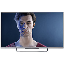 "Buy Sony Bravia KDL42W8 LED HD 1080p 3D Smart TV, 42"" with Freeview HD & 2x 3D Glasses, Silver with HT-CT60BT Bluetooth Sound Bar Online at johnlewis.com"