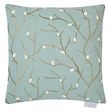 Buy Voyage Fallon Cushion, Duck Egg Online at johnlewis.com