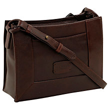 Buy Radley Border Small Leather Across Body Bag Online at johnlewis.com