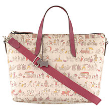 Buy Radley Beside The Seaside Medium Multiway Grab Handbag, Ivory Online at johnlewis.com