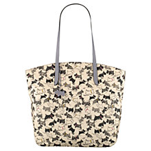 Buy Radley Doodle Dog Large Zipped Tote Handbag, Ivory Online at johnlewis.com