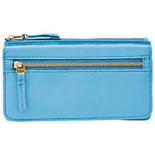 Buy Fossil Erin Flap Clutch Purse, Crystal Blue Online at johnlewis.com