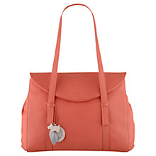Buy Radley Sherwood Leather Large Flap Over Shoulder Bag Online at johnlewis.com
