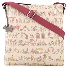 Buy Radley Beside The Seaside Medium Across Body Handbag, Ivory Online at johnlewis.com
