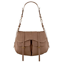 Buy Radley Grosvenor Large Leather Flap Shoulder Handbag Online at johnlewis.com