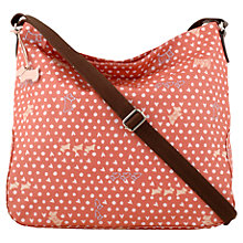 Buy Radley Hibbert Large Bucket Across Body Bag, Pink Online at johnlewis.com