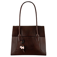 Buy Radley Border Large Leather Tote Handbag Online at johnlewis.com