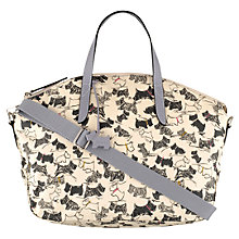 Buy Radley Doodle Dog Medium Grab Handbag, Ivory Online at johnlewis.com