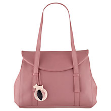 Buy Radley Sherwood Large Flap Over Leather Tote Bag Online at johnlewis.com