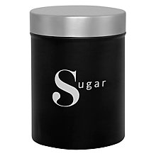 Buy John Lewis Barista Sugar Canister Online at johnlewis.com