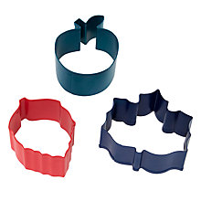 Buy John Lewis Fruit Pie Cookie Cutters, Set of 3 Online at johnlewis.com
