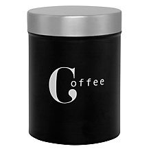 Buy John Lewis Barista Coffee Canister Online at johnlewis.com