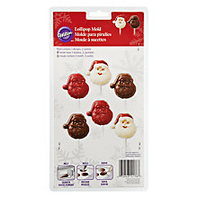 Buy Wilton Santa Claus Lollipop Mould Online at johnlewis.com
