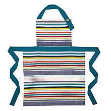 Buy John Lewis Scandi Stripe Apron Online at johnlewis.com