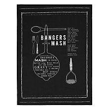 Buy John Lewis Sausage & Mash Tea Towels Online at johnlewis.com