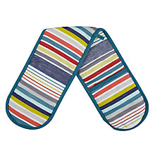 Buy John Lewis Scandi Stripe Double Oven Glove Online at johnlewis.com