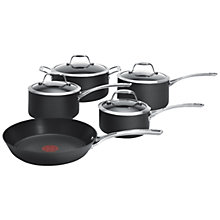 Buy Tefal Hard Anodised Pan Set, 5 Pieces Online at johnlewis.com