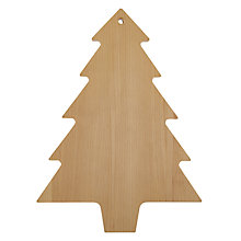 Buy John Lewis Christmas Tree Chopping Board Online at johnlewis.com
