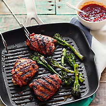 Buy Spiced Chicken & Charred Broccoli with Chilli Jam by Ben Tish Online at johnlewis.com