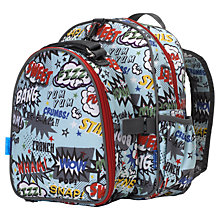 Buy Babymel Explorer Pow Backpack with Lunch Bag, Blue/Multi Online at johnlewis.com