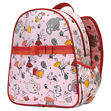 Buy Babymel Tea Party Backpack, Pink/Multi Online at johnlewis.com