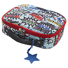 Buy Babymel Pow Lunch Bag, Blue/Multi Online at johnlewis.com