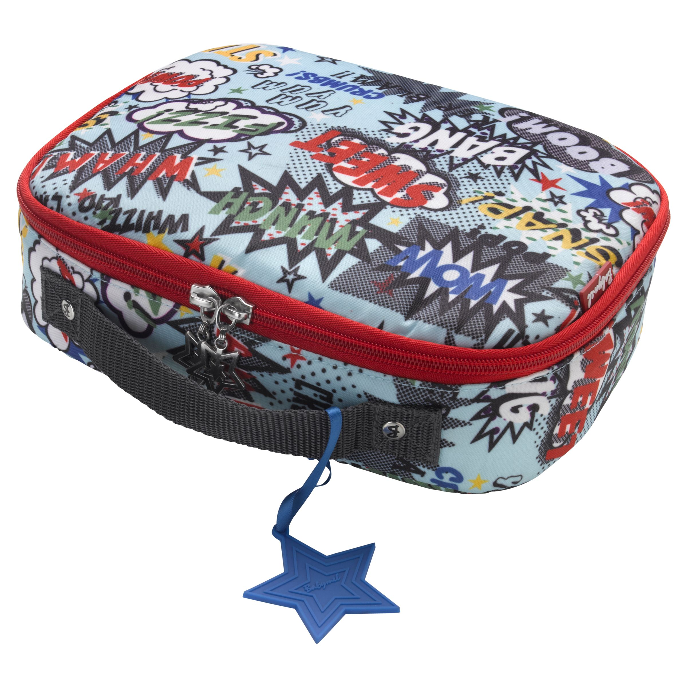 Babymel Pow Lunch Bag, Blue/Multi
