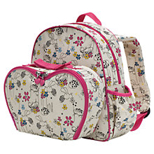 Buy Babymel Explorer Buzzy Bee Backpack with Lunch Bag, Pink/Multi Online at johnlewis.com
