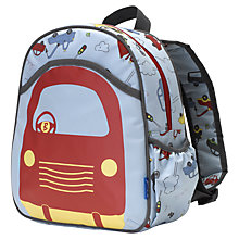 Buy Babymel Trucks Backpack, Blue/Multi Online at johnlewis.com