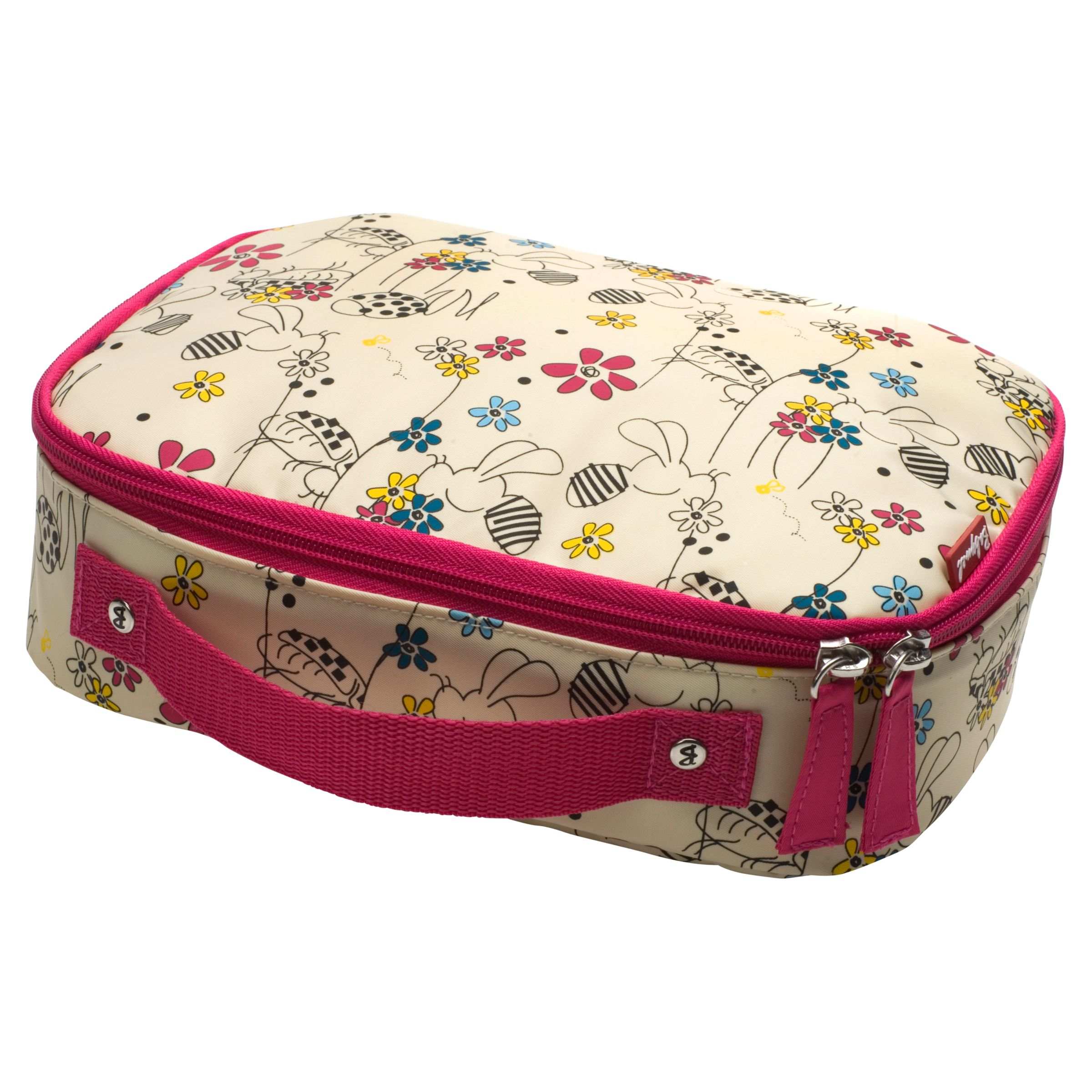 Babymel Buzzy Bee Lunch Bag, Pink/Multi