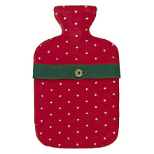 Buy John Lewis Dots Hot Water Bottle and Cover Online at johnlewis.com