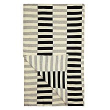 Buy House by John Lewis Dominoes Throw, Steel Online at johnlewis.com
