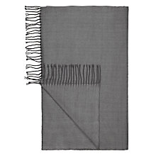 Buy John Lewis Herringbone Throw Online at johnlewis.com
