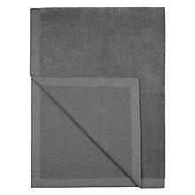 Buy John Lewis Linen Edge Velvet Throw Online at johnlewis.com