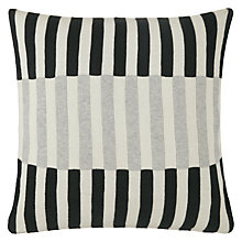 Buy House by John Lewis Dominoes Cushion, Steel Online at johnlewis.com