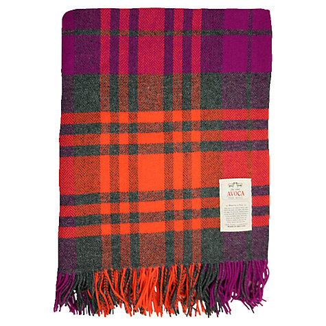 Buy Avoca Dingle Lambswool Throw Online at johnlewis.com