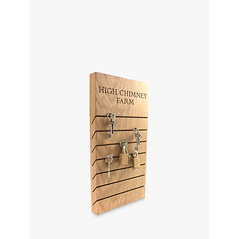 Buy The Oak And Rope Company Personalised Key Organiser, Large Online at johnlewis.com