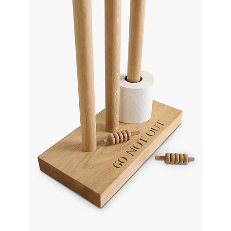 Buy The Oak And Rope Company Personalised Cricket Toilet Roll Holder Online at johnlewis.com