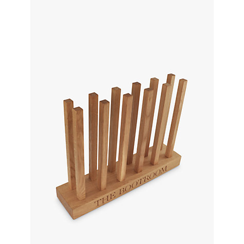 Buy The Oak And Rope Company Personalised Wellie Boot Holder, 6 Pairs Online at johnlewis.com