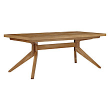 Buy Matthew Hilton for Case Cross 6-12 Seater Extending Dining Table Online at johnlewis.com