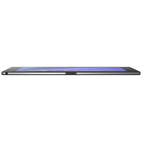 "Buy Sony Xperia Z2 Tablet, Snapdragon 801, Android, 10.1"", NFC, Wi-Fi & 4G LTE, 16GB, Black Online at johnlewis.com"