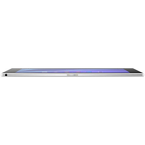 "Buy Sony Xperia Z2 Tablet, Snapdragon 801, Android, 10.1"", NFC, Wi-Fi, 32GB, White Online at johnlewis.com"