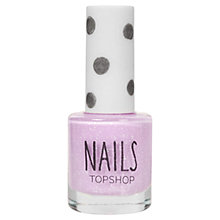 Buy TOPSHOP Nails - White Speckle Online at johnlewis.com