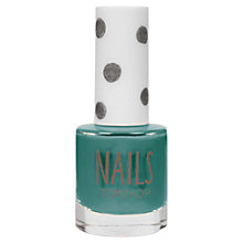 Buy TOPSHOP Nails, Green Online at johnlewis.com