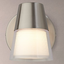 Buy John Lewis Cormack LED Single Spotlight, Nickel Online at johnlewis.com