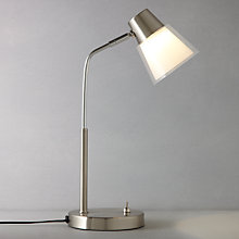 Buy John Lewis Cormack Double Layer LED Task Lamp Online at johnlewis.com