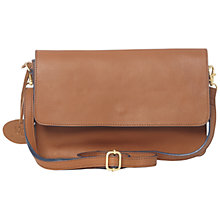 Buy White Stuff Simone Leather Across Body Bag, Tan Online at johnlewis.com