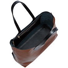 Buy Jaeger Morrell Tote Bag, Black/Tan Online at johnlewis.com
